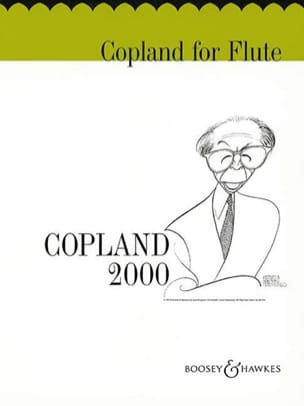 Aaron Copland - Copland for flute - Sheet Music - di-arezzo.co.uk