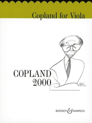 Aaron Copland - Copland for viola - Sheet Music - di-arezzo.co.uk