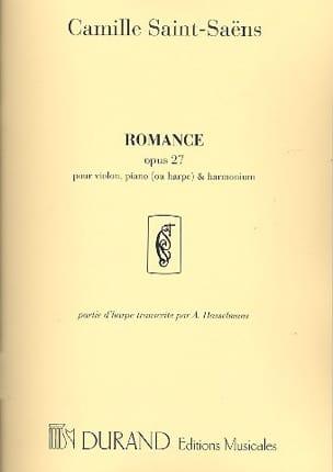 Romance Op. 27 SAINT-SAËNS Partition Trios - laflutedepan