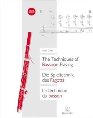 La Technique du Basson Pascal Gallois Partition Basson - laflutedepan