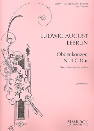 Ludwig August Lebrun - Konzert N ° 4 C-Dur - Sheet Music - di-arezzo.co.uk