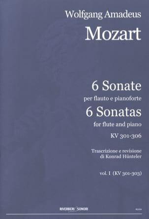 MOZART - 6 Sonates Volume 1 - Kv.301-303 - Partition - di-arezzo.fr