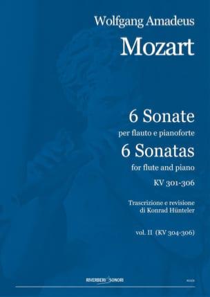 MOZART - 6 Sonates Vol.2 - Kv.304-306 - Partition - di-arezzo.fr