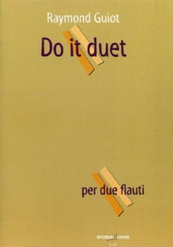Do It Duet Raymond Guiot Partition Flûte traversière - laflutedepan