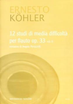 12 Studi Di Media Difficolta Op. 33 Volume 2 - laflutedepan.com