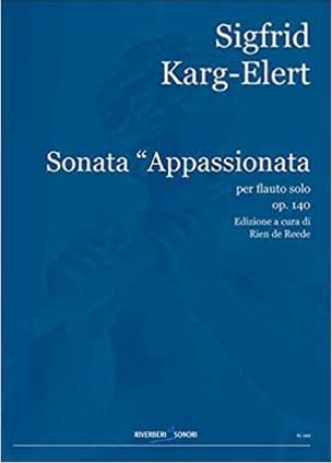 Sigfrid Karg-Elert - Sonata Appassionata Op.140 - Partition - di-arezzo.fr