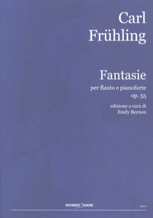 Carl Frühling - Fantasie Op.55 - Partition - di-arezzo.fr