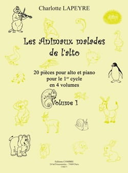 Charlotte Lapeyre - The sick animals of the viola Volume 1 - Sheet Music - di-arezzo.co.uk