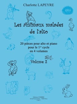Charlotte Lapeyre - The Sick Animals of Alto Vol. 2 - Sheet Music - di-arezzo.com
