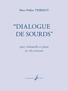 Dialogue de Sourds Marc-Didier Thirault Partition laflutedepan