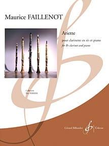 Maurice Faillenot - Arlette - Partitura - di-arezzo.it