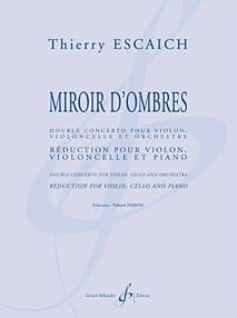 Double Concerto Miroir d'Ombres - Thierry Escaich - laflutedepan.com