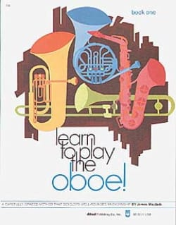 James Macbeth - Learn To Play The Oboe Book 1 - Partition - di-arezzo.fr