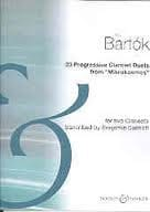 23 Progressive Duets for clarinets BARTOK Partition laflutedepan