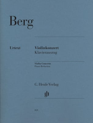 Alban Berg - Violin Concerto 1935 - Sheet Music - di-arezzo.co.uk