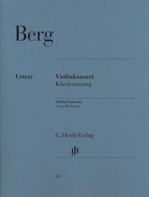 Alban Berg - Concierto para violín 1935 - Partitura - di-arezzo.es