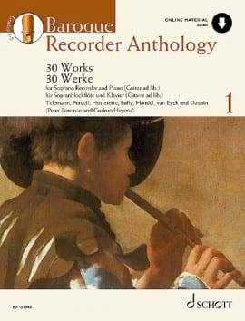 - Baroque Recorder Anthology Volume 1 - Partition - di-arezzo.fr