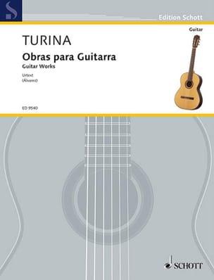 Joaquin Turina - Obras Para Guitarra - Partition - di-arezzo.fr