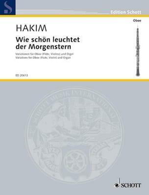 Naji Hakim - Wie schön leuchtet der Morgenstern - Sheet Music - di-arezzo.com