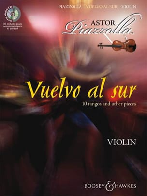 Astor Piazzolla - Vuelvo Al on - Violin CD - Sheet Music - di-arezzo.co.uk