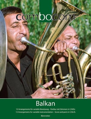 Combocom - Balkan - Partition - di-arezzo.fr