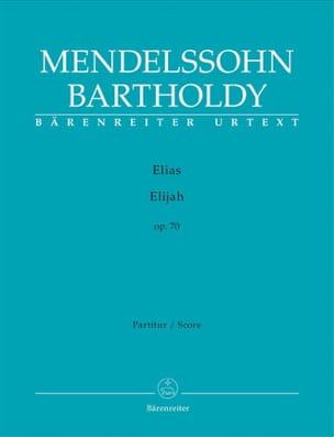 Elias - MENDELSSOHN - Partition - Grand format - laflutedepan.com
