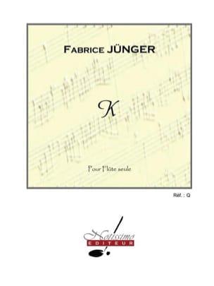 K Fabrice Jünger Partition Flûte traversière - laflutedepan