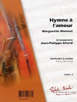 Hymne A l' Amour Marguerite Monnot Partition Quintettes - laflutedepan