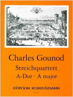 Charles Gounod - Quatuor A Cordes En la Maj. - Partition - di-arezzo.fr