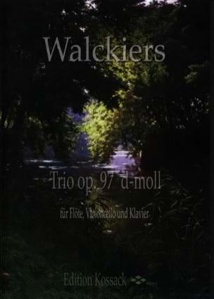 Eugene Walckiers - Trio Op. 97 en Ré Mineur - Partition - di-arezzo.fr