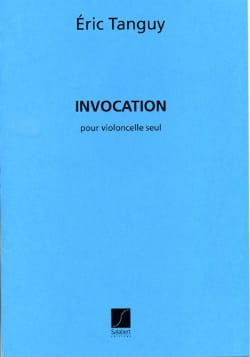 Eric Tanguy - Invocation - Sheet Music - di-arezzo.co.uk