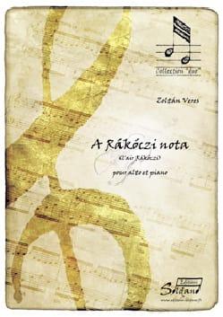 Sandor Veress - A Rakoczi Nota - Partition - di-arezzo.fr