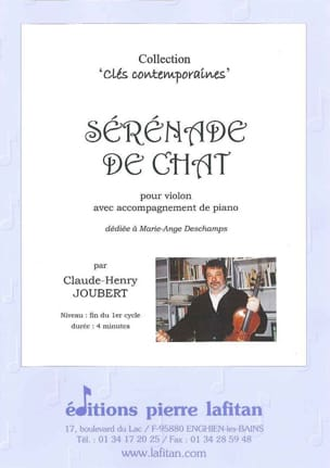 Claude-Henry Joubert - Serenade of Cat - Sheet Music - di-arezzo.com