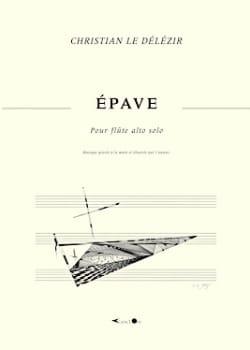 Epave Délézir Christian Le Partition Flûte traversière - laflutedepan