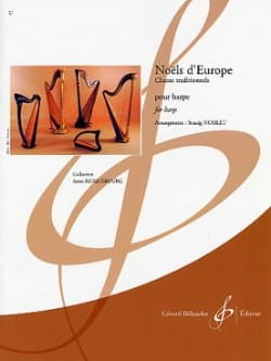 Noëls d'Europe Partition Harpe - laflutedepan