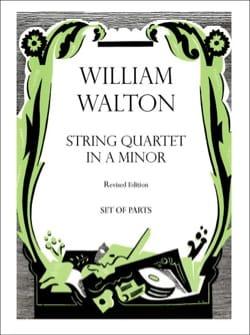 Quatuor A Cordes En la Mineur - William Walton - laflutedepan.com