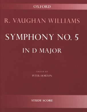 Williams Ralph Vaughan - Symphony No. 5 in D Major - Partition - di-arezzo.co.uk