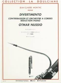 Divertimento - Otmar Nussio - Partition - Basson - laflutedepan.com
