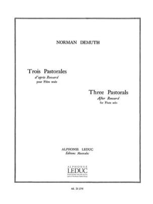 Norman Demuth - 3 Pastorales - Partition - di-arezzo.fr