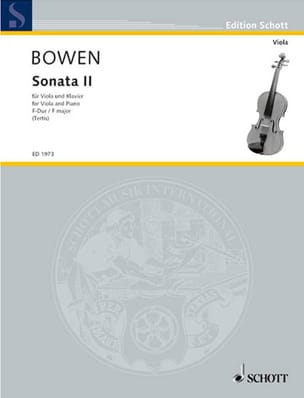Edwin York Bowen - Sonata N ° 2 in F Major - Sheet Music - di-arezzo.com