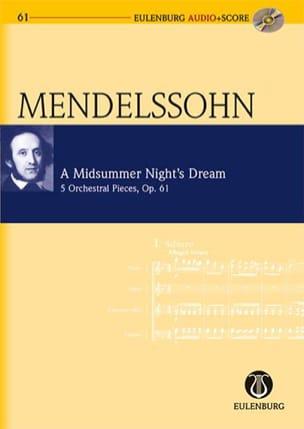 MENDELSSOHN - A Midsummer Night's Dream Op.61 - Partition - di-arezzo.fr