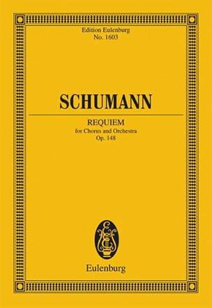 Robert Schumann - Requiem Op.148 - Partition - di-arezzo.fr