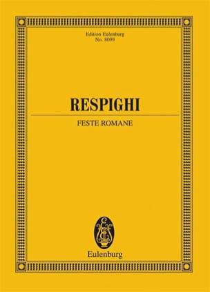 Feste Romane - Ottorino Respighi - Partition - laflutedepan.com
