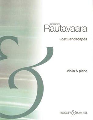Einojuhani Rautavaara - Lost Landscapes - Partition - di-arezzo.fr