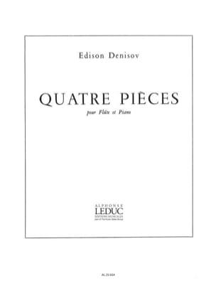 Edison Denisov - 4 pièces - Partition - di-arezzo.fr