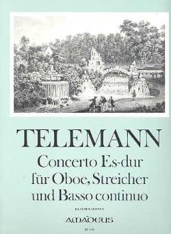 TELEMANN - Concerto In Es Dur Fur Oboe, Streicher Und Bc - Partition - di-arezzo.fr