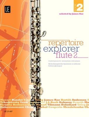 - Repertoire Explorer Flute Book 2 - Partition - di-arezzo.fr