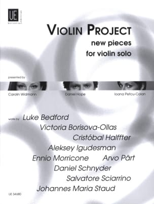 Violin Project New Pieces - Partition - Violon - laflutedepan.com