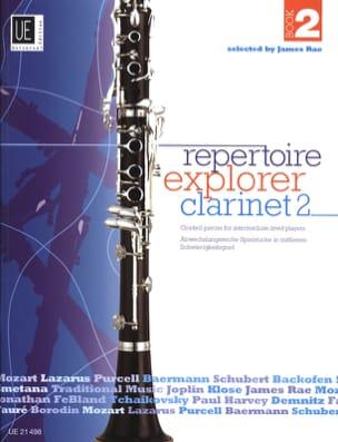 Repertoire Explorer Clarinet Book 2 - Partition - laflutedepan.com