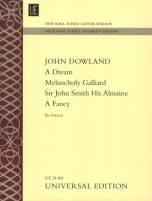A Dream - Melancholy Galliard - Sir John Smith His Almaine - A Fancy - laflutedepan.com